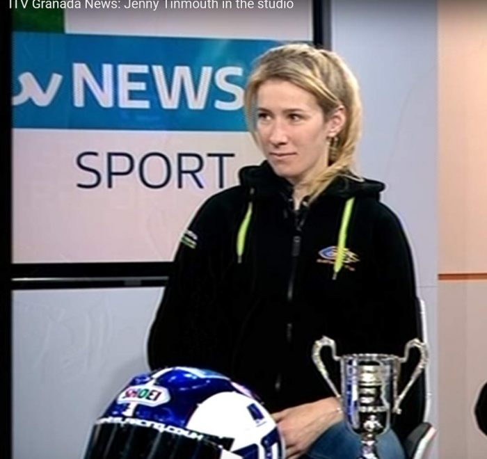 Jenny Tinmouth on ITV Image