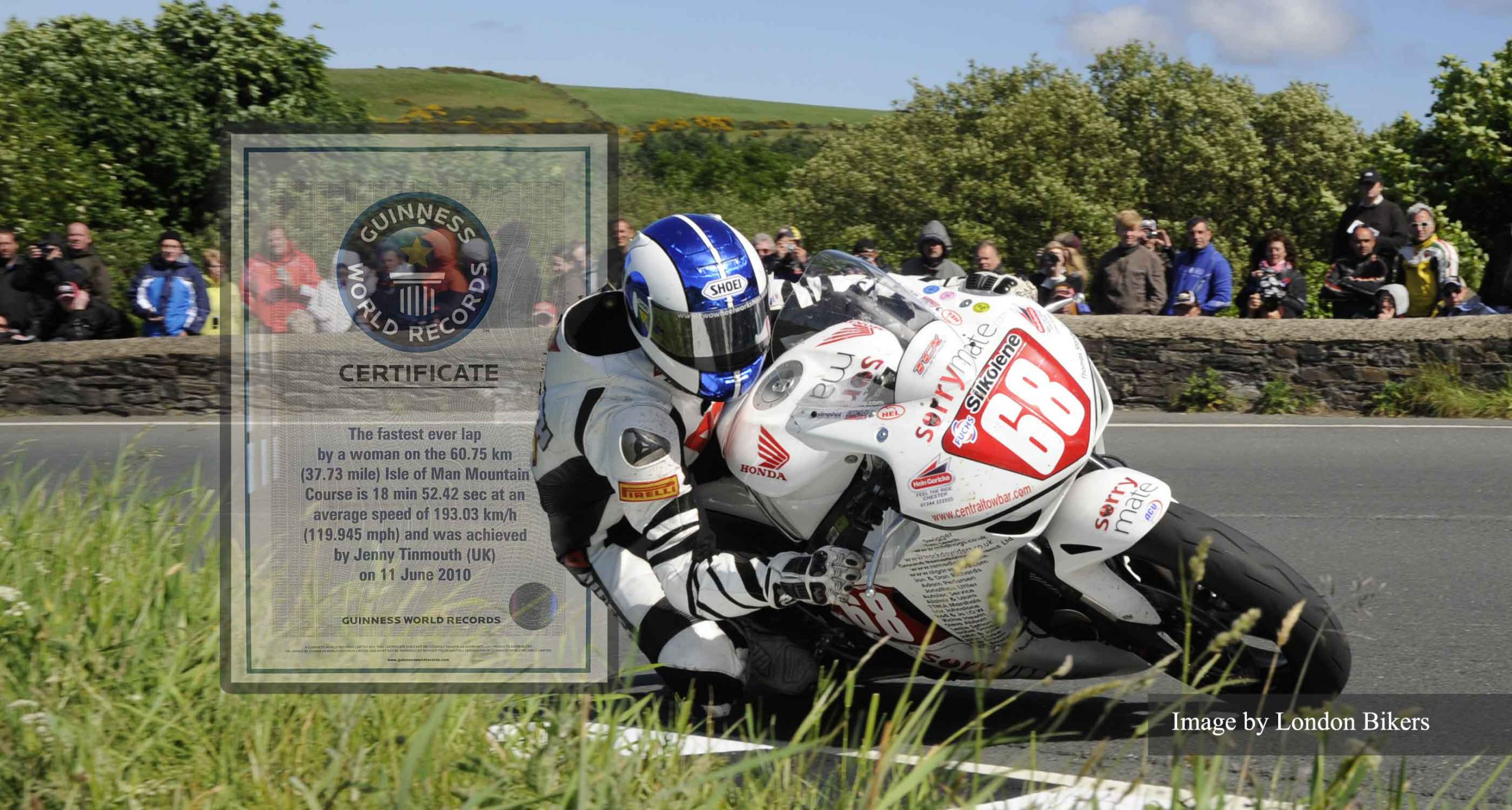 Jenny Tinmouth IOM TT at the Gooseneck Image